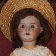 Muñecas Porcelana: ANTIGUA MUÑECA FRANCESA S.F.B.J 60 PARIS DE 52 CM. Lote 175157975