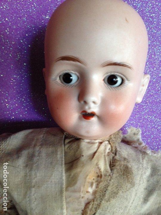 Muñecas Porcelana: MUÑECA MARCA ANCLA PRINCIPIOS DEL SIGLO XX - LEHMANN &CIA. - Foto 8 - 175903825