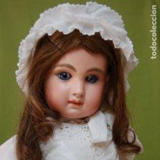 Muñecas Porcelana: JUMEAU CONTINUED MEDALLA DE ORO PARÍS DÉPOSE S.G.D.G 12 BOCA CERRADA. Lote 175955357