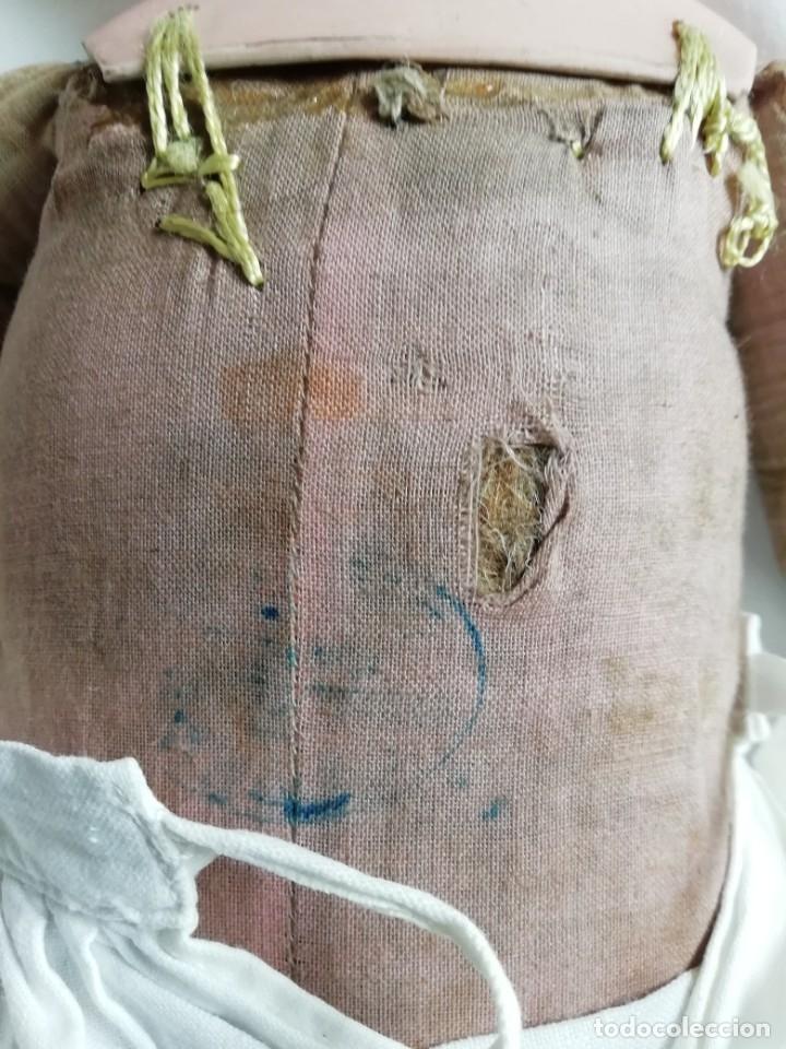 Muñecas Porcelana: Muñeca Limoges 46 cm con reparacion en pectoral - Foto 6 - 177884033