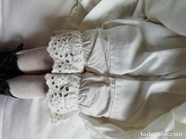 Muñecas Porcelana: Muñeca Limoges 46 cm con reparacion en pectoral - Foto 8 - 177884033