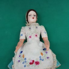 Muñecas Porcelana: MUÑECA ARTESANAL PORCELANA Y TRAPO .. Lote 178649423