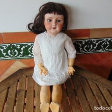 Muñecas Porcelana: MUÑECA CABEZA DE PORCELANA NIÑA ARTICULADA MARCADA Nº 13 EN CUERPO Nº 71 301 FRANCE EN CABEZA. Lote 179315510