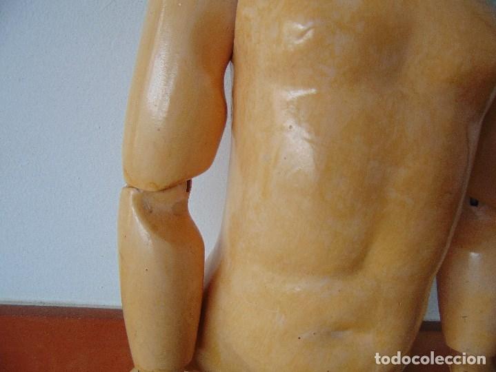 Muñecas Porcelana: MUÑECA CABEZA DE PORCELANA NIÑA ARTICULADA MARCADA Nº 13 EN CUERPO Nº 71 301 FRANCE EN CABEZA - Foto 8 - 179315510
