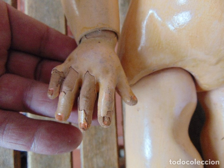Muñecas Porcelana: MUÑECA CABEZA DE PORCELANA NIÑA ARTICULADA MARCADA Nº 13 EN CUERPO Nº 71 301 FRANCE EN CABEZA - Foto 14 - 179315510