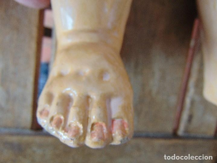Muñecas Porcelana: MUÑECA CABEZA DE PORCELANA NIÑA ARTICULADA MARCADA Nº 13 EN CUERPO Nº 71 301 FRANCE EN CABEZA - Foto 16 - 179315510