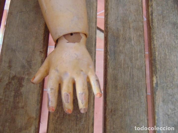 Muñecas Porcelana: MUÑECA CABEZA DE PORCELANA NIÑA ARTICULADA MARCADA Nº 13 EN CUERPO Nº 71 301 FRANCE EN CABEZA - Foto 21 - 179315510
