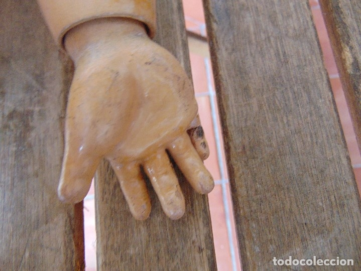 Muñecas Porcelana: MUÑECA CABEZA DE PORCELANA NIÑA ARTICULADA MARCADA Nº 13 EN CUERPO Nº 71 301 FRANCE EN CABEZA - Foto 30 - 179315510