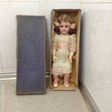 Muñecas Porcelana: MUÑECA DE PORCELANA EN CAJA. Lote 180338518