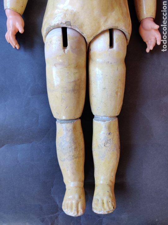 Muñecas Porcelana: Muñeca de porcelana antigua Limoges 10, 58 cm - Foto 24 - 180466250