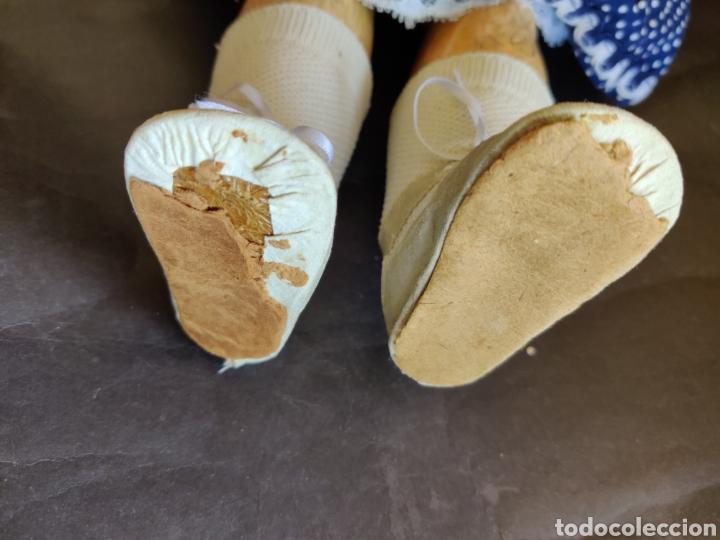 Muñecas Porcelana: Muñeca de porcelana antigua Limoges 10, 58 cm - Foto 12 - 180466250