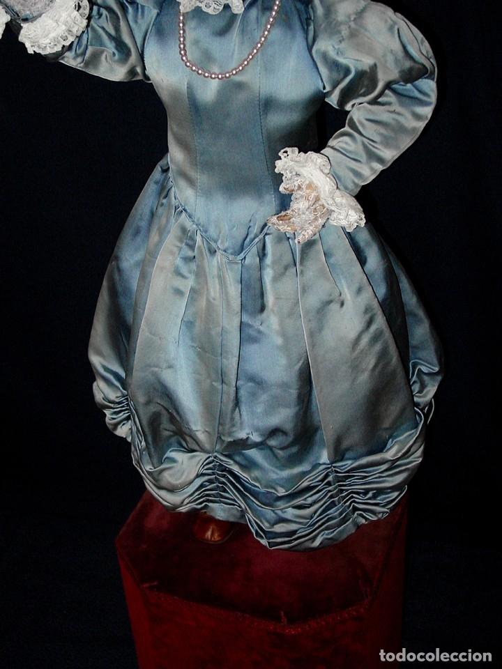 Muñecas Porcelana: GRAN MUÑECA AUTÓMATA-PORCELANA. SIGLO XIX - Foto 3 - 181616767