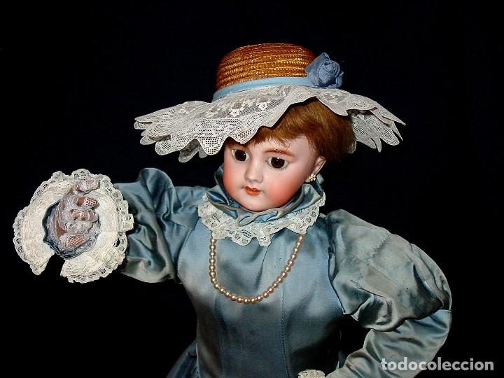 Muñecas Porcelana: GRAN MUÑECA AUTÓMATA-PORCELANA. SIGLO XIX - Foto 4 - 181616767