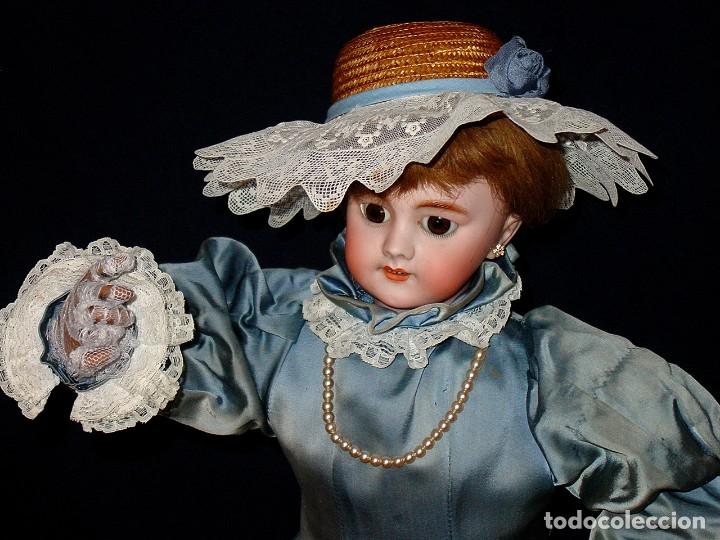Muñecas Porcelana: GRAN MUÑECA AUTÓMATA-PORCELANA. SIGLO XIX - Foto 5 - 181616767