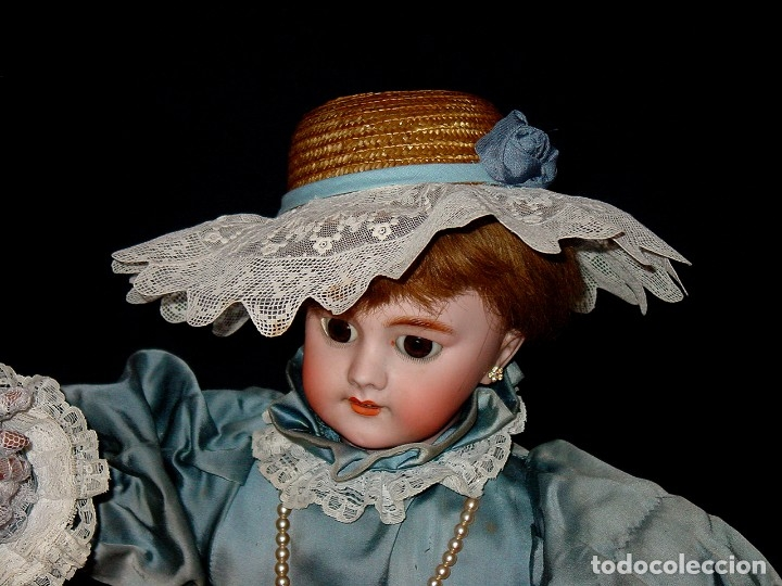 Muñecas Porcelana: GRAN MUÑECA AUTÓMATA-PORCELANA. SIGLO XIX - Foto 6 - 181616767