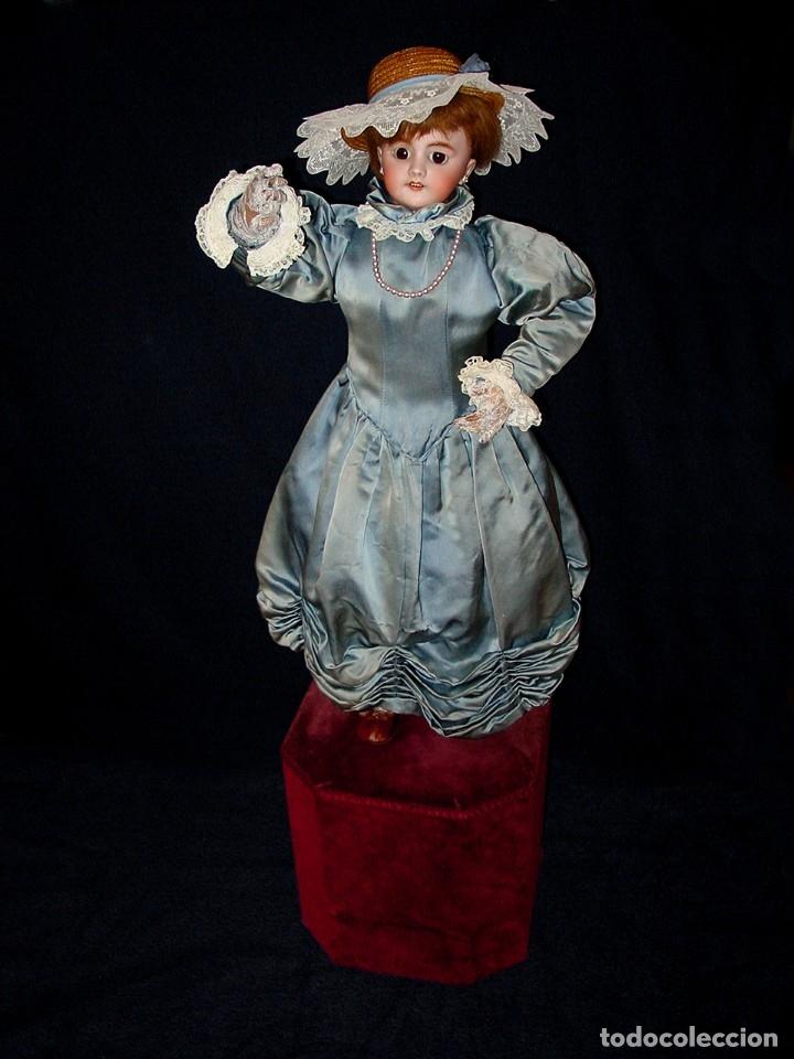 Muñecas Porcelana: GRAN MUÑECA AUTÓMATA-PORCELANA. SIGLO XIX - Foto 8 - 181616767