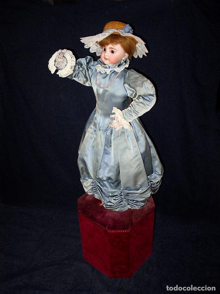 Muñecas Porcelana: GRAN MUÑECA AUTÓMATA-PORCELANA. SIGLO XIX - Foto 9 - 181616767