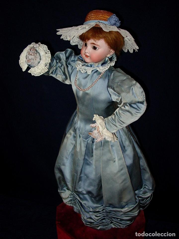 Muñecas Porcelana: GRAN MUÑECA AUTÓMATA-PORCELANA. SIGLO XIX - Foto 10 - 181616767