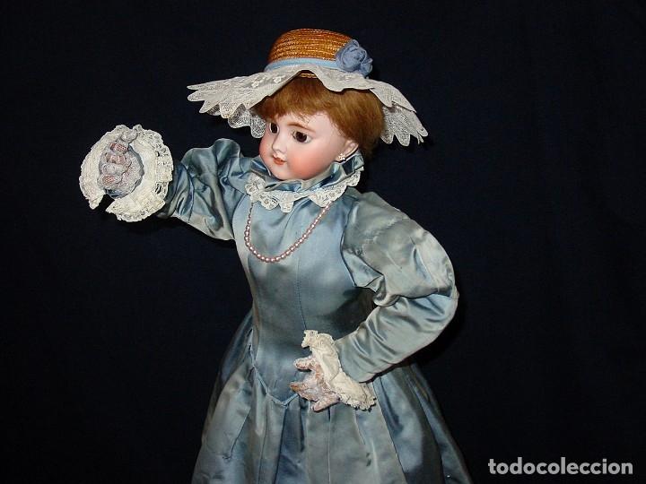 Muñecas Porcelana: GRAN MUÑECA AUTÓMATA-PORCELANA. SIGLO XIX - Foto 11 - 181616767