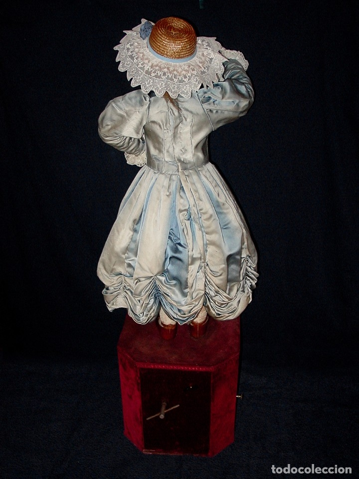 Muñecas Porcelana: GRAN MUÑECA AUTÓMATA-PORCELANA. SIGLO XIX - Foto 14 - 181616767