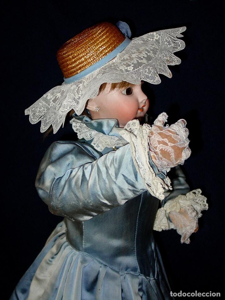 Muñecas Porcelana: GRAN MUÑECA AUTÓMATA-PORCELANA. SIGLO XIX - Foto 17 - 181616767