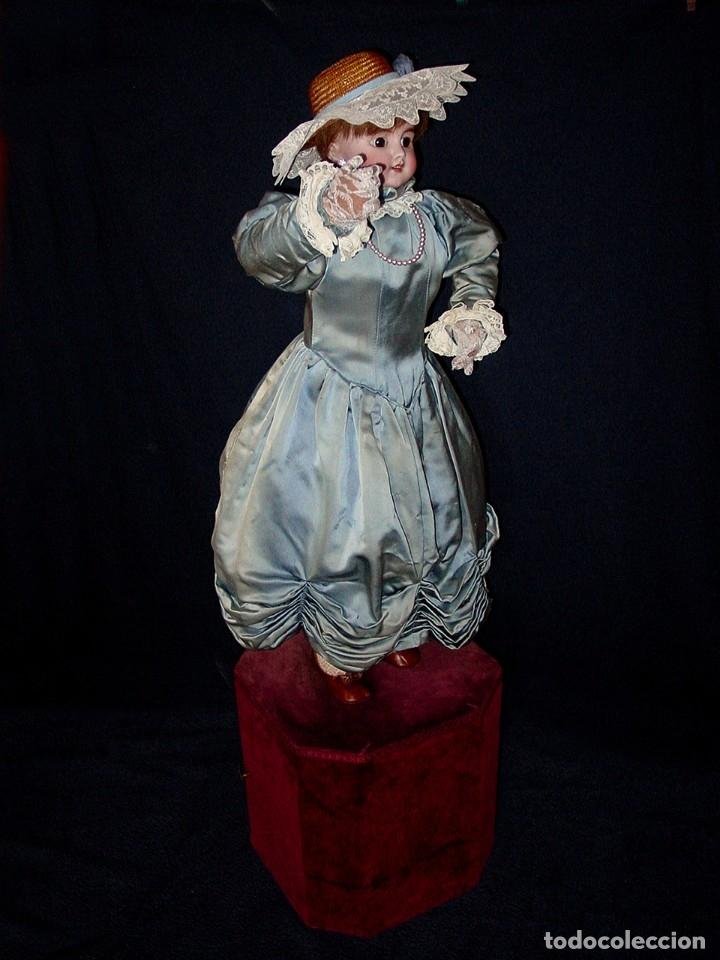 Muñecas Porcelana: GRAN MUÑECA AUTÓMATA-PORCELANA. SIGLO XIX - Foto 19 - 181616767