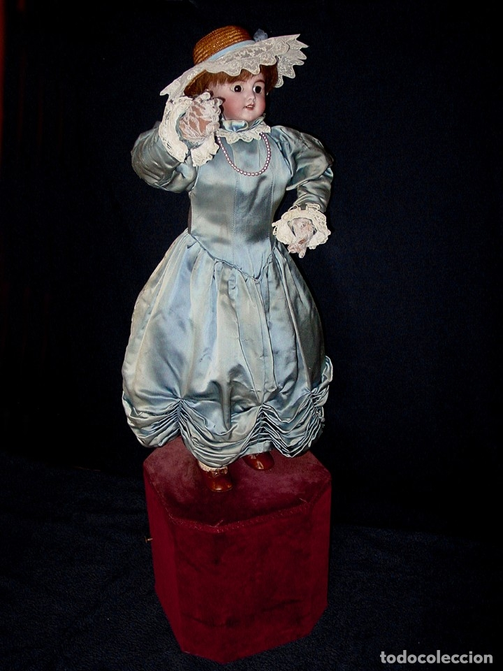 Muñecas Porcelana: GRAN MUÑECA AUTÓMATA-PORCELANA. SIGLO XIX - Foto 20 - 181616767