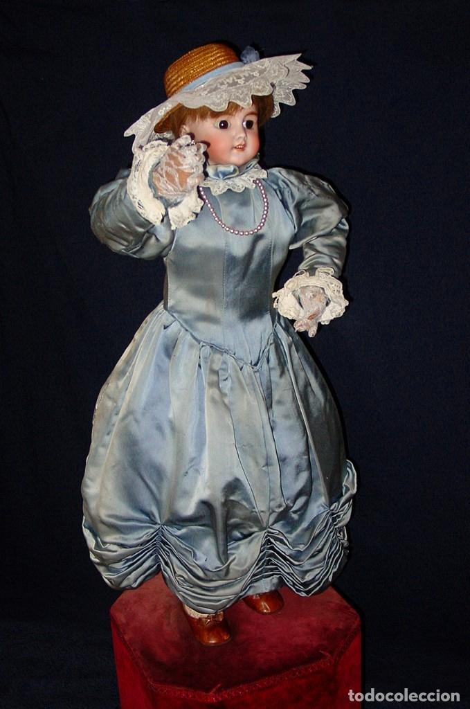 Muñecas Porcelana: GRAN MUÑECA AUTÓMATA-PORCELANA. SIGLO XIX - Foto 21 - 181616767