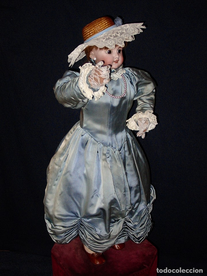 Muñecas Porcelana: GRAN MUÑECA AUTÓMATA-PORCELANA. SIGLO XIX - Foto 22 - 181616767