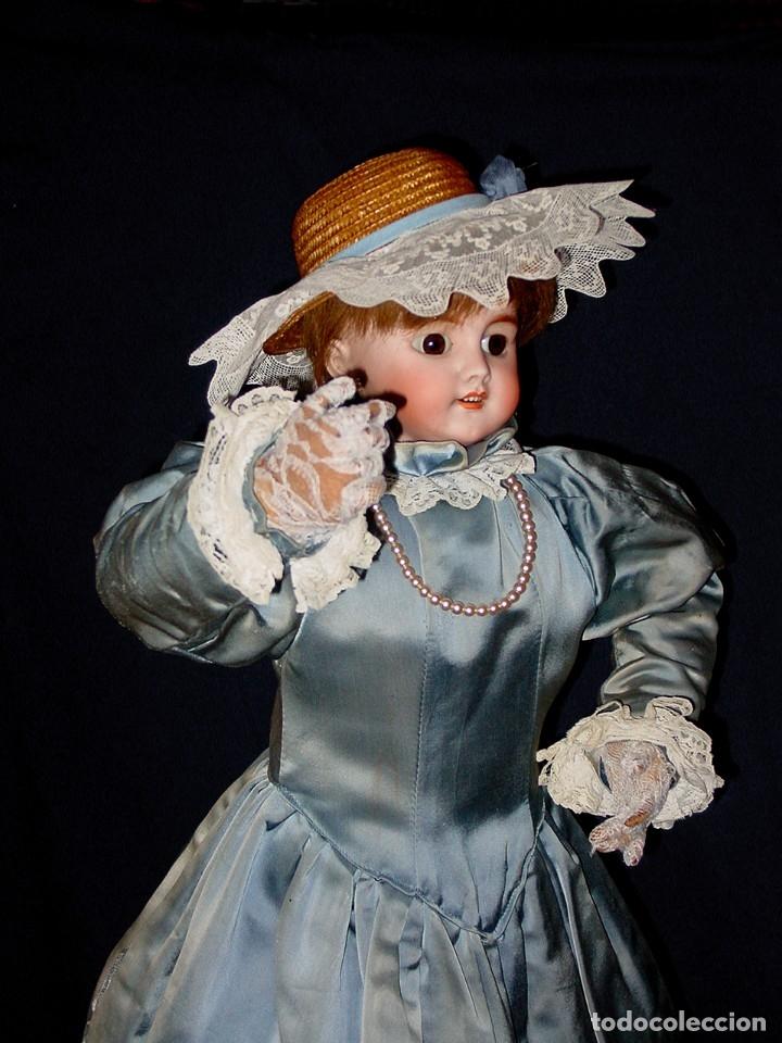 Muñecas Porcelana: GRAN MUÑECA AUTÓMATA-PORCELANA. SIGLO XIX - Foto 23 - 181616767