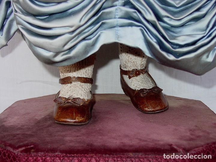 Muñecas Porcelana: GRAN MUÑECA AUTÓMATA-PORCELANA. SIGLO XIX - Foto 26 - 181616767