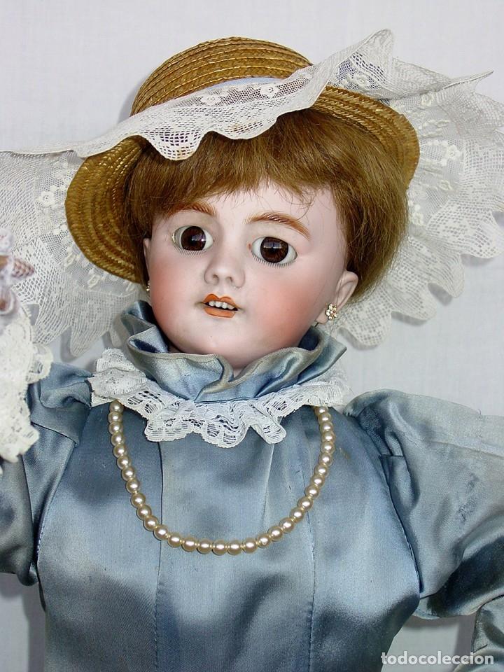 Muñecas Porcelana: GRAN MUÑECA AUTÓMATA-PORCELANA. SIGLO XIX - Foto 31 - 181616767