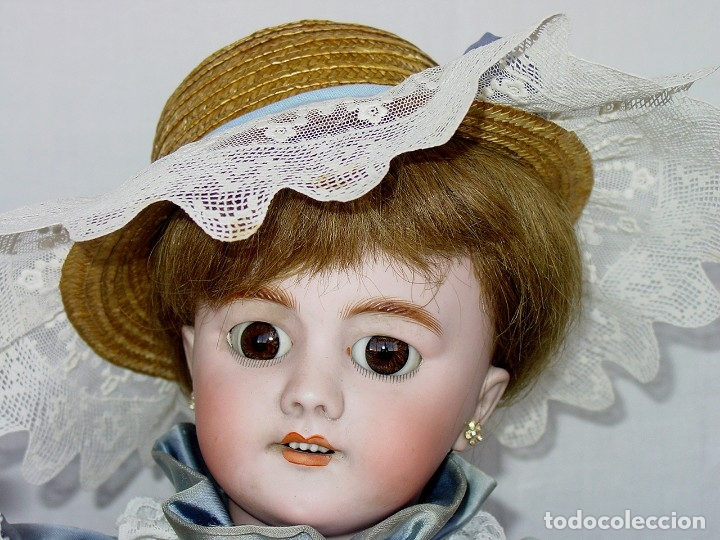 Muñecas Porcelana: GRAN MUÑECA AUTÓMATA-PORCELANA. SIGLO XIX - Foto 32 - 181616767