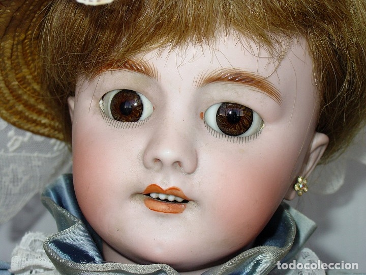 Muñecas Porcelana: GRAN MUÑECA AUTÓMATA-PORCELANA. SIGLO XIX - Foto 33 - 181616767