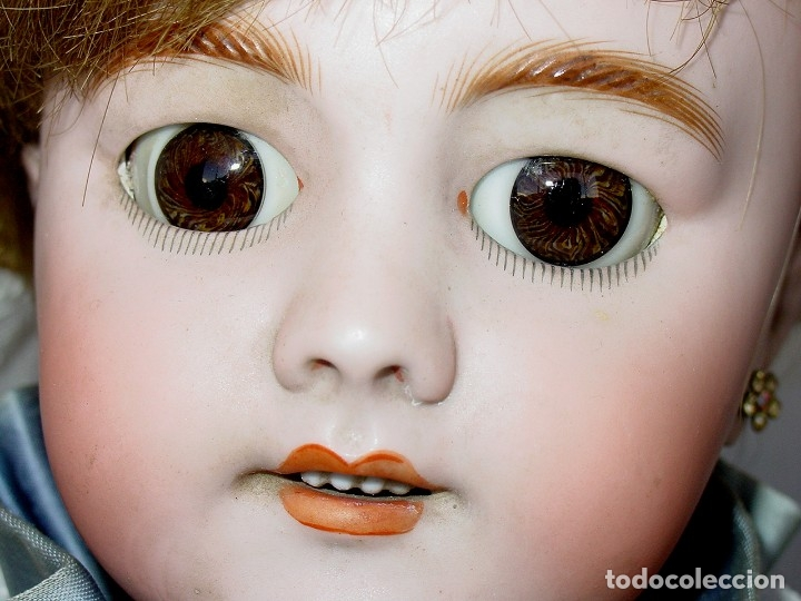 Muñecas Porcelana: GRAN MUÑECA AUTÓMATA-PORCELANA. SIGLO XIX - Foto 34 - 181616767