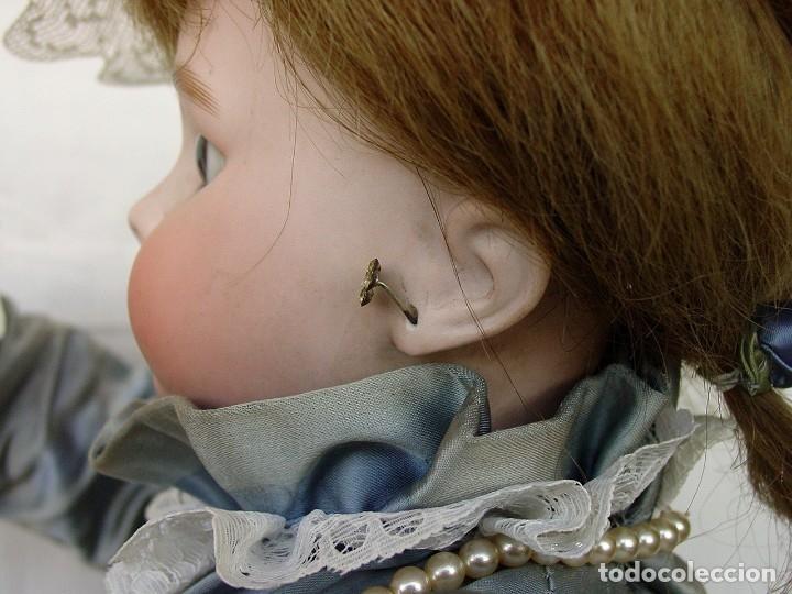 Muñecas Porcelana: GRAN MUÑECA AUTÓMATA-PORCELANA. SIGLO XIX - Foto 37 - 181616767