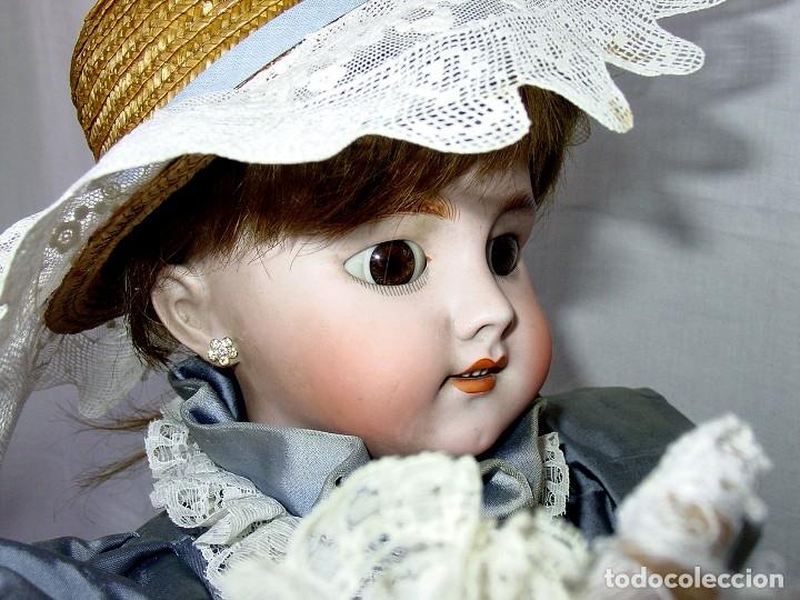 Muñecas Porcelana: GRAN MUÑECA AUTÓMATA-PORCELANA. SIGLO XIX - Foto 49 - 181616767