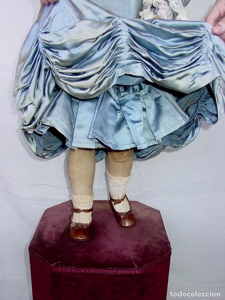 Muñecas Porcelana: GRAN MUÑECA AUTÓMATA-PORCELANA. SIGLO XIX - Foto 55 - 181616767