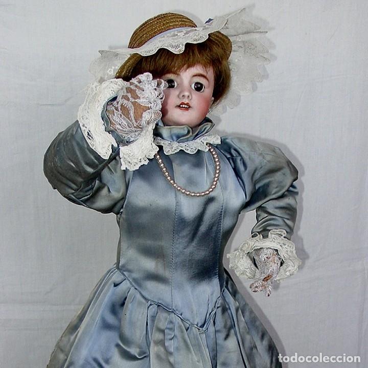Muñecas Porcelana: GRAN MUÑECA AUTÓMATA-PORCELANA. SIGLO XIX - Foto 56 - 181616767