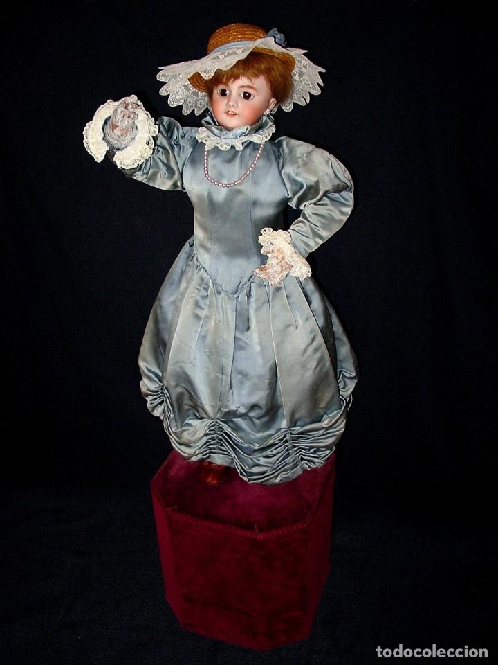 Muñecas Porcelana: GRAN MUÑECA AUTÓMATA-PORCELANA. SIGLO XIX - Foto 57 - 181616767