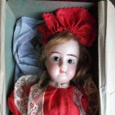 Poupées Porcelaine: PRECIOSA MUÑECA DE PORCELANA FRANCESA DAMERVAL & LAFFRANCHY BOCA CERRADA TODA DE ORIGEN, EN CAJA. Lote 183829453