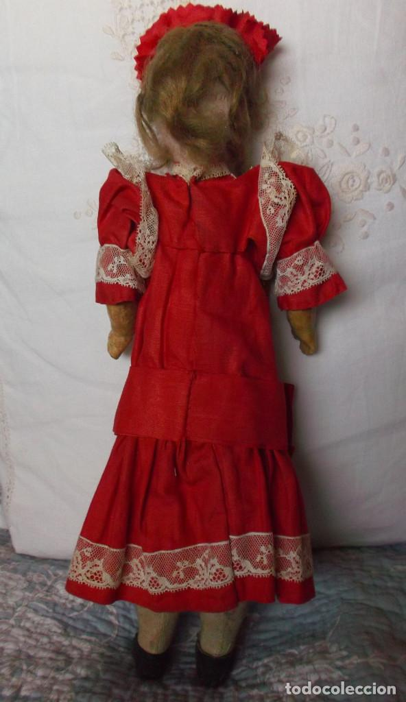 Muñecas Porcelana: Preciosa muñeca de porcelana francesa Damerval & Laffranchy boca cerrada toda de origen, en caja - Foto 5 - 183829453