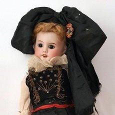 Muñecas Porcelana: PAR DE MUÑECAS ANTIGUAS FRANCESA CABEZA DE PORCELANA S.F.B.J. 60 PARÍS . Lote 187487140