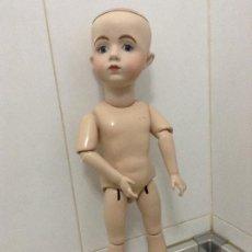 Muñecas Porcelana: REPRODUCCIÓN MUÑECA A.MARQUE FRANCESA. Lote 187579951