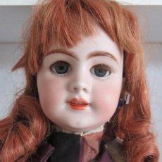 Muñecas Porcelana: MUÑECAS ANTIGUA. DEP JUMEAU. 54CM. TODA DE ORIGEN.. Lote 190071307