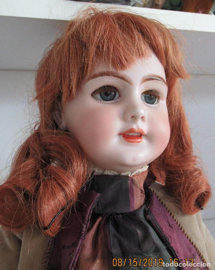 Muñecas Porcelana: Muñecas antigua. DEP JUMEAU. 54Cm. Toda de origen. - Foto 2 - 190071307