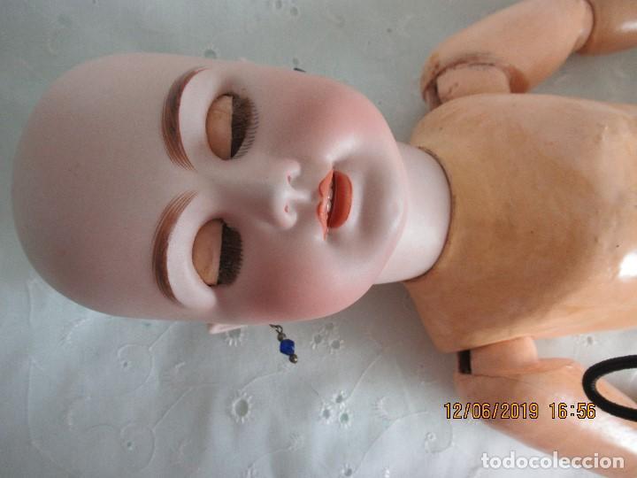 Muñecas Porcelana: Muñecas antigua. DEP JUMEAU. 54Cm. Toda de origen. - Foto 6 - 190071307