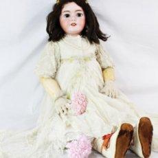 Muñecas Porcelana: GRAN MUÑECA JUMEAU, DEP 15, 1903 ATENCIÓN 85 CM DE ALTURA ROPAS DE ORIGEN LLORA MECANISMO FUNCIONAND. Lote 190316542