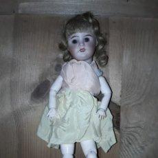Muñecas Porcelana: MUÑECA ANTIGUA SFBJ 60 PARÍS 6/0 CON BAÚL. Lote 190326860