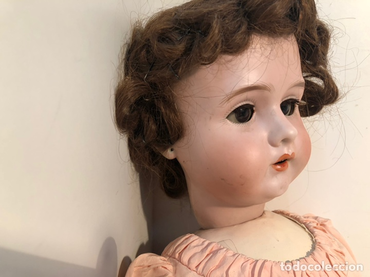 Muñecas Porcelana: BONITA MUÑECA PORCELANA ARTICULADA MARCA ANCLA ANCORA LC Nº13. 71CM. - Foto 2 - 191486617